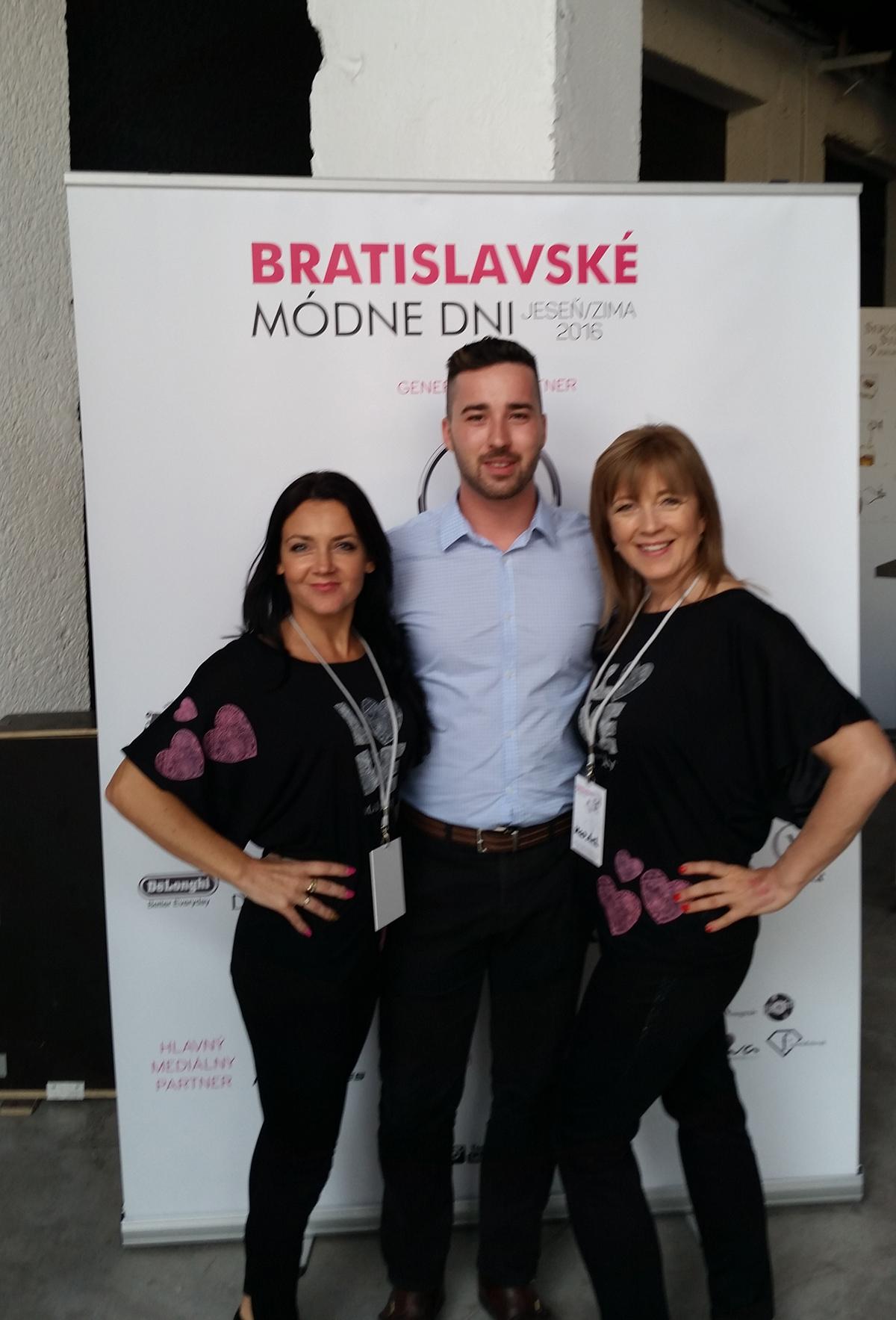 Bratislavské módne dni líčenia Marika Kadučáková